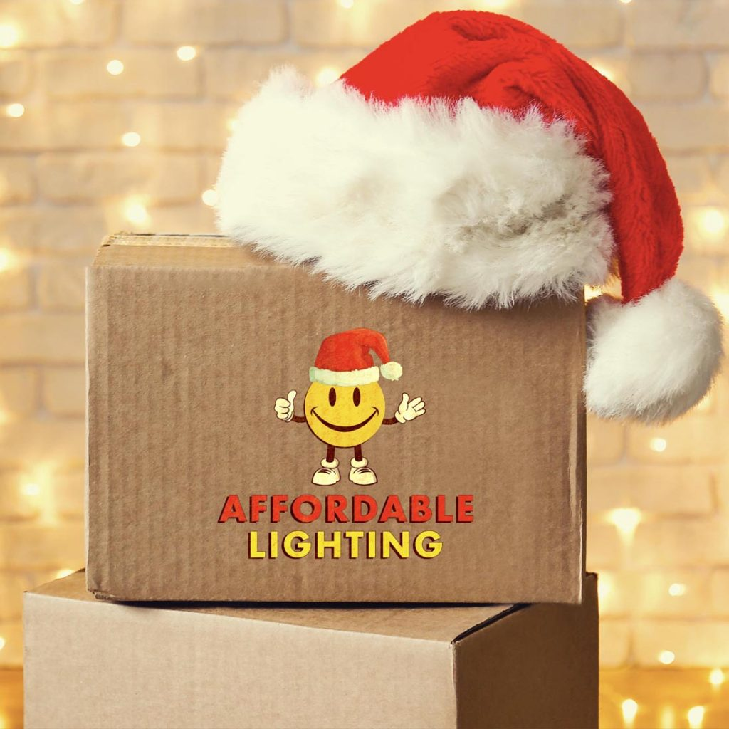 Affordable Lighting boxes & Santa hat